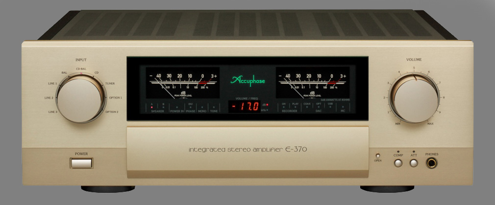 Accuphase E-370 stereo versterker [ Klik op afbeelding voor meer details ]