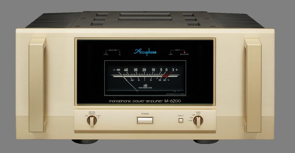 Accuphase M-6200 Mono Eindversterker [ Klik op de afbeelding voor meer details ]