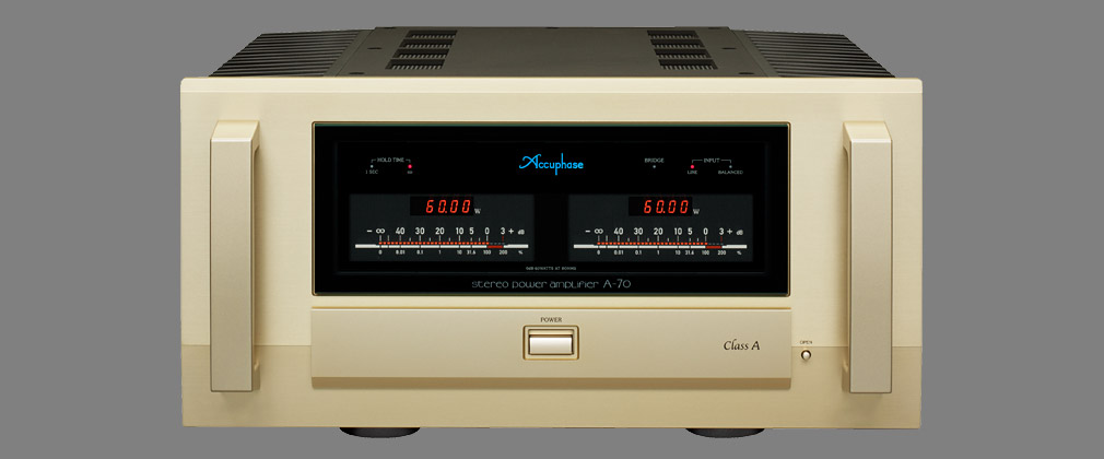Accuphase A-70 Klasse A stereo-eindversterker