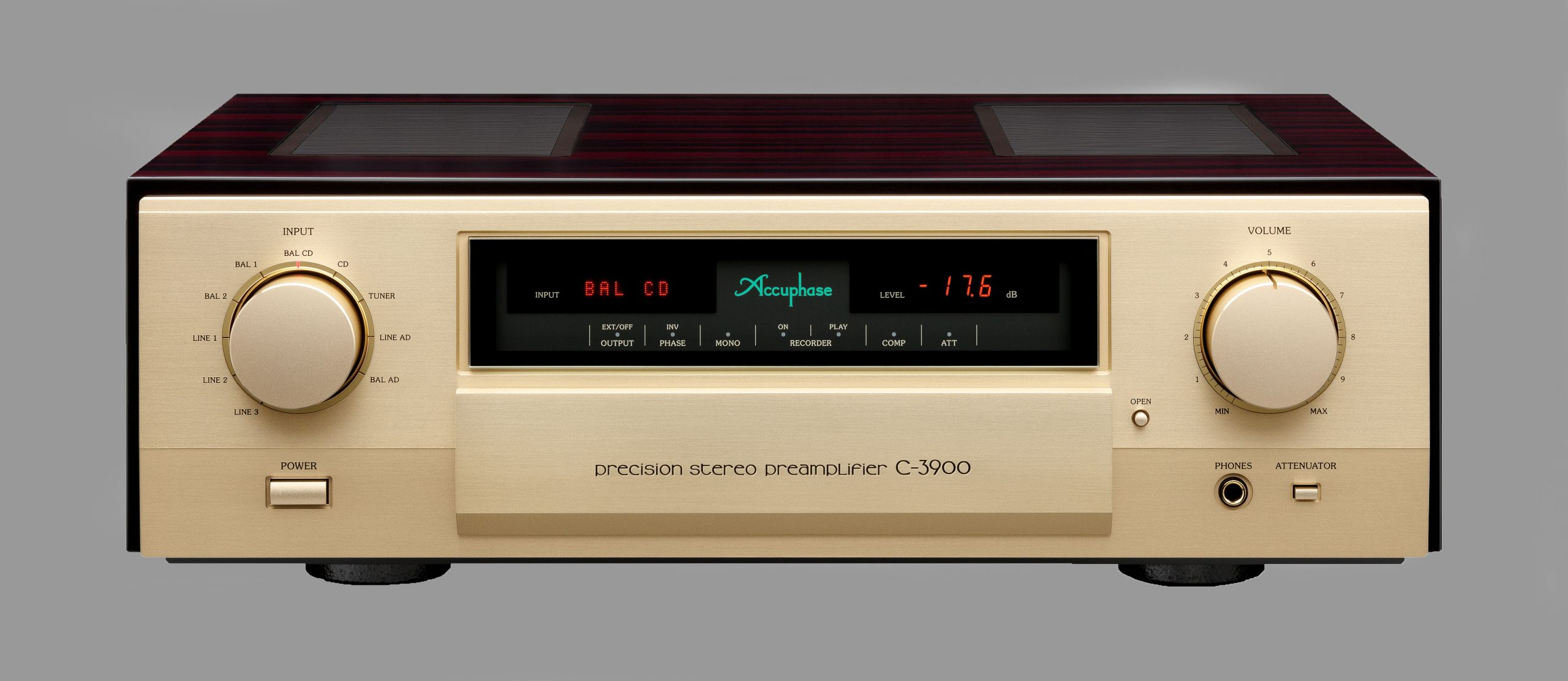 AccuphaseC-3900 Voorversterker